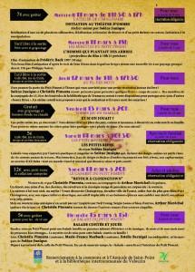 Verso Programme Mars 2015